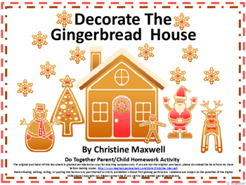 Christmas Do Together Gingerbread House