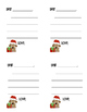 Christmas Dog Thank You Notes (editable and write-in)