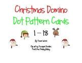 Christmas Domino Dot Pattern Cards