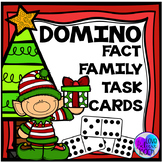 Fact Families - Christmas Themed Domino Task Cards