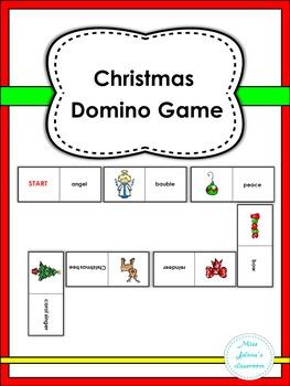 Christmas Domino Game