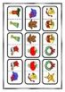 Christmas Dominoes, Printable Game
