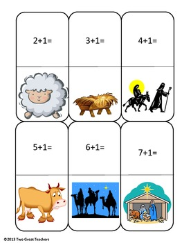 Christmas Dominoes (Religious)