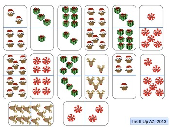 Christmas Dominoes for Domino War