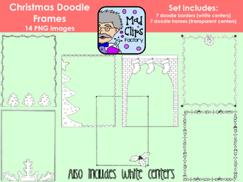 Christmas Doodle Frames