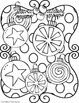 Christmas Doodle Coloring Book ~ Holiday Gift