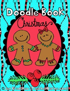 Christmas Doodle Coloring Book ~ Holiday Gift ~ Winter ART