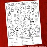 Christmas Doodles I Spy