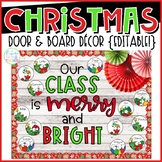 Christmas Door & Board Decor {Editable!}