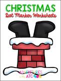 Christmas Dot Marker Worksheets