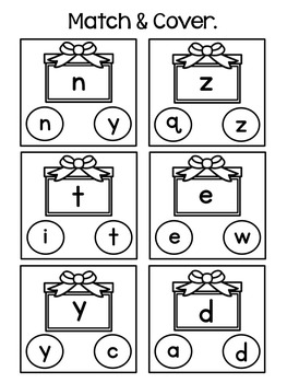 Christmas Dot Marker Worksheets