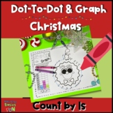 Christmas Dot-To-Dot Count By 1s and Graph
