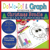 Christmas Dot-To-Dot & Graph Bundle, Count by 1s, 2s, 5s, 10s, and More