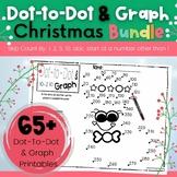 Christmas Dot-To-Dot & Graph Bundle, Count by 1s, 2s, 5s,