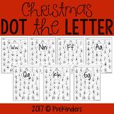 Christmas Dot the Letter