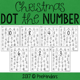 Christmas Dot the Number