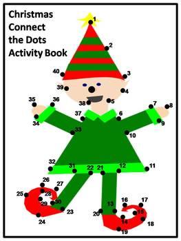 Christmas Dot to Dot Activity Book