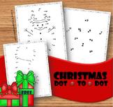 Christmas Dot to Dot (Counting to 50)