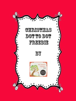 Christmas Dot to Dot Freebie