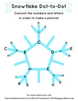 Christmas Dot to Dot Intermediate Levels