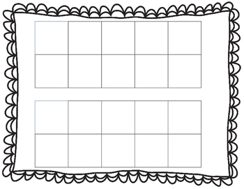 Christmas Double Ten Frame Counting Practice Common Core