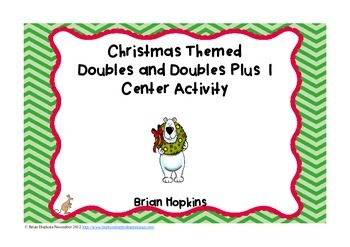 Christmas Doubles and Doubles Plus 1