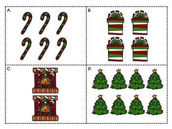 Christmas Doubles to 20 Scoot [FREEBIE]