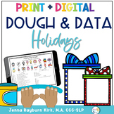 Christmas Dough & Data Mats: Speech and Language Therapy