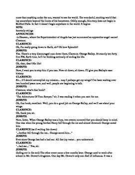 Drama - It's a Wonderful Life - Script and Mp3