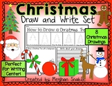 Christmas Draw and Write Pack- Directed Drawings