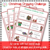 Christmas Drawing Challenge Cards (Christmas Games/Activities)