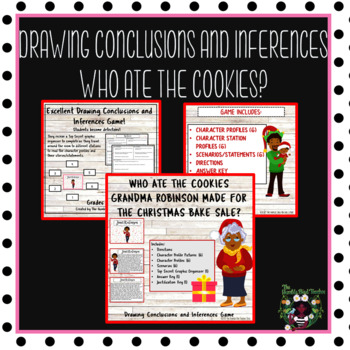Christmas Activity:Drawing Conclusions and Inferences