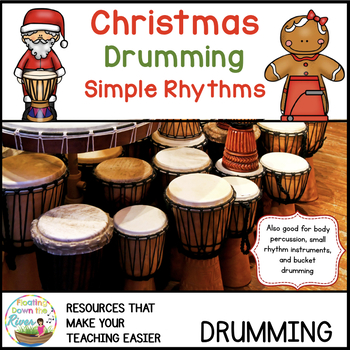 Christmas Drumming For Learning, Fun, and Performance- Simple Rhythms