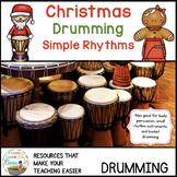 Christmas Bucket Drumming Simple Rhythms