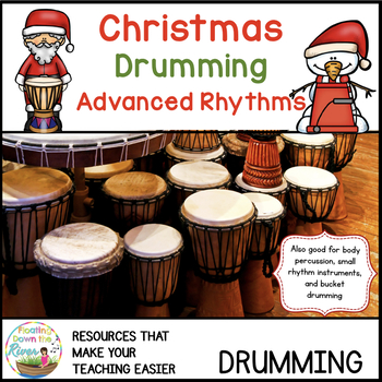 Christmas Drumming for Learning, Fun, and Performance-Adva