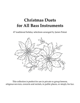 Christmas Duets for All Bass Instruments