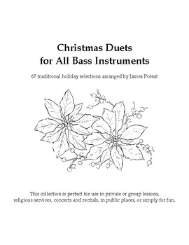 Christmas Duets for All Bass Instruments (updated)