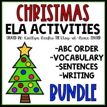 Christmas ELA Activities BUNDLE