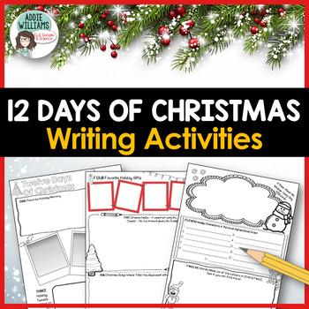 Christmas Writing - 12 Days of ELA Christmas Activities