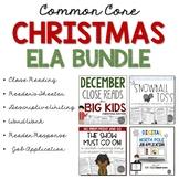 December ELA Bundle Common Core Aligned for Grades 4-8