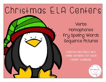 Christmas ELA Centers