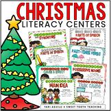 Christmas ELA & Literacy Stations- Center Activities