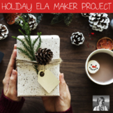 Christmas ELA Maker Space Creative Writing Project