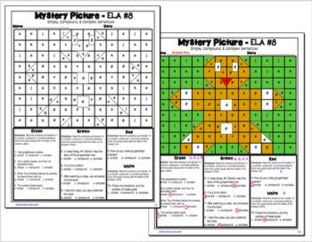 Christmas ELA Mystery Puzzles Grade 3 Edition