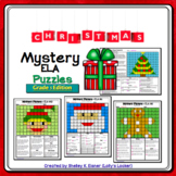 5th Grade Christmas Color by Code ELA Mystery Pictures: Fi