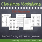 Christmas ELA Worksheets and Printables