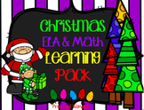 Christmas ELA and Math Early Learning Pack