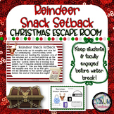 Christmas ESCAPE ROOM - Reindeer Snack Setback