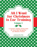 Christmas Ear Training  Vol.1 - Aural Note Recognition and Notation Practice