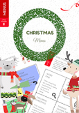 Christmas Early Finisher Menus